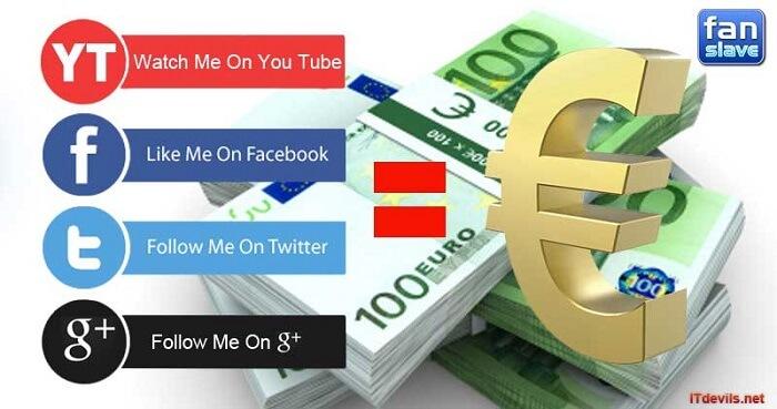 fanslave likes, mit fanslave geld verdienen, meinungen fanslave, fanslave test, fanslave testbericht, Fanslave Auszahlung