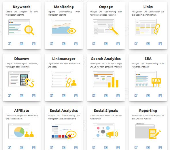 Xovi Search Analytics Tool, Xovi Affiliate Tool, Xovi Preise, Xovi Rabataktion, Beste SEO Tools, Bestes SEO Tool