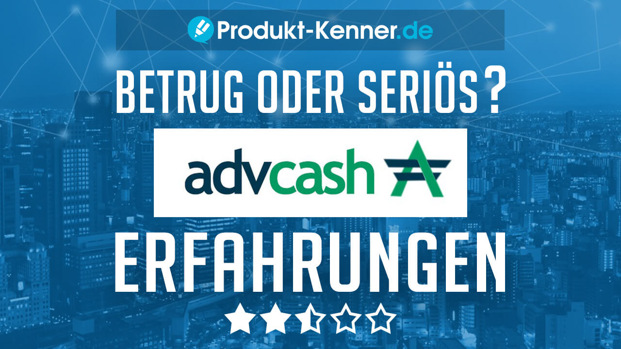 adv cash deutsch