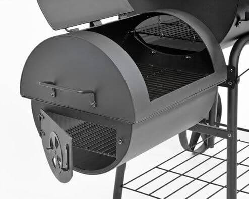 profi xxl 90kg smoker bbq grillwagen erfahrungen test review. Black Bedroom Furniture Sets. Home Design Ideas