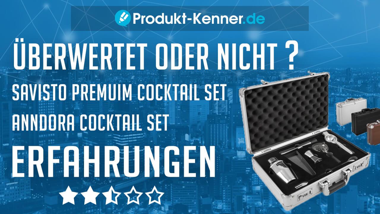 savisto premium cocktail set erfahrungen anndora cocktail set test. Black Bedroom Furniture Sets. Home Design Ideas