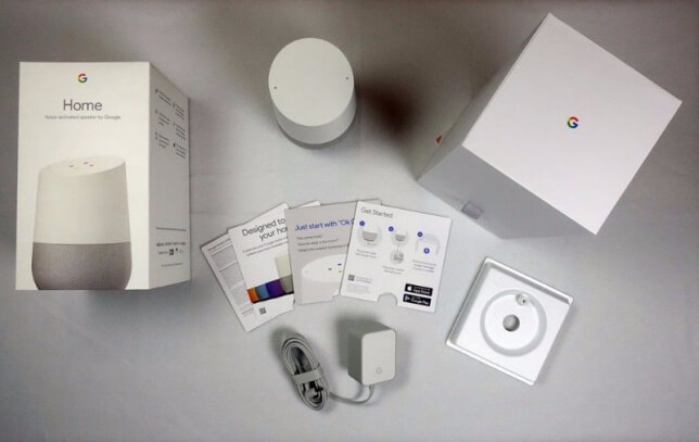 google home erfahrungen google home smart speaker test. Black Bedroom Furniture Sets. Home Design Ideas