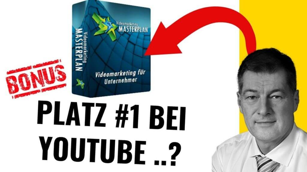 Videomarketing-Masterplan Lektionen, Video Marketing für Unternehmer, Erfolgreiches Video Marketing, Das beste Video Marketing, Jürgen Saladin Kritik, Jürgen Saladin Produkte